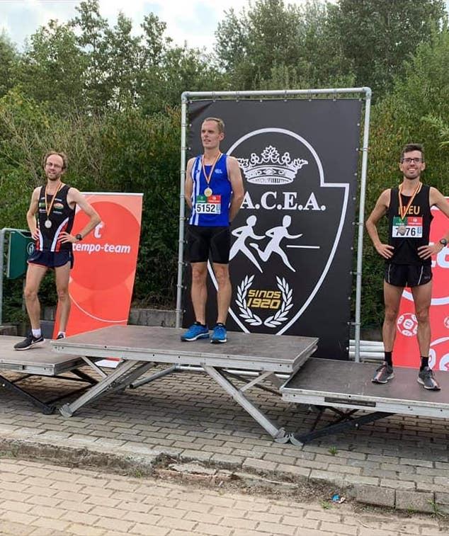 Gianni Guido en bronze aux championnats de Belgique